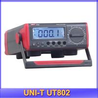 EMS free shipping UNI-T UT802 DC/AC Bench Type Digital Multimeter