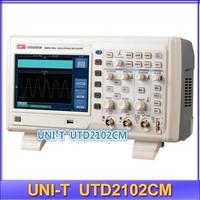 "Free Shipping UNI-T UTD2102CM 2CH 16Mpoint 7"" TFT 100MHz Digital Speicher Oszilloskop"