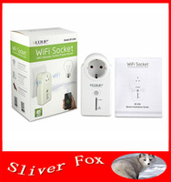 EDUP 802.11b/g/n Free App softwar Smart Wifi socket EU-Plug Wireless Wifi Remote Switch Wifi Remote Control Power Socket