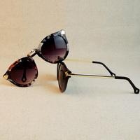Free shipping 2014 New Fashion glasses Women men retro Fashion  Sunglasses summer 4 colors glasses