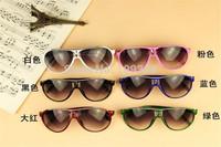 Driving Child Fashion Sunglasses BLACK WHITE RED BLUE PINK GREEN KIDS CHILDREN SHADES Glasses BOY GIRL ANTI PROTECTION