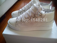Brand New Embossed Leather Arena White Sneakers Rouge Brand Yeezy Shoes kayne west trainers Men Brand Fashion Shoes
