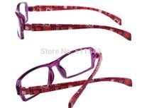 Fashion Couple glasses eyeglasses frame computer radiation-resistant glasses lovers design glasses frame plain mirror bag flower