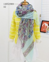 Free shipping  180*110 cms Viscose blends scarf  Fashion printed shawls Cheap printing scarves  Muslim Hijab Quality Shawl