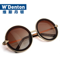 Hot sales ladies cute round frame arrow sunglasses. Do not miss.