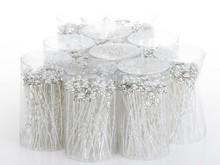 40PCS Wholesale Wedding Bridal Pearl Flowers Crystal Hair Pins Clips Bridesmaid