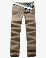 free shipping men's pants , new 2014 spring men's fashion full length pants , plus size 40 casual men's trousers 45.12