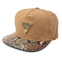 New 2014 Fashion Unisex Snapback HATER Cork Wood Snakeskin Casual Baseball Caps Hiphop Hip-hop Hats Flat brim Cap For Men Women