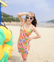 2014 new arrival fashion feather  beach scarf/fashion lady cover-ups wholesale pareo