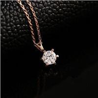 fashion Austrian crystals Collarbone chain spherical Women zircon necklace A389