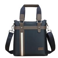 Male fashion handbag fashion man bag oxford fabric all-match color block messenger bag