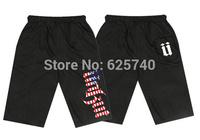 unkut Beach pants hip hop sweats shorts men free shipping new 2014 men short pant hiphop Cropped Trousers