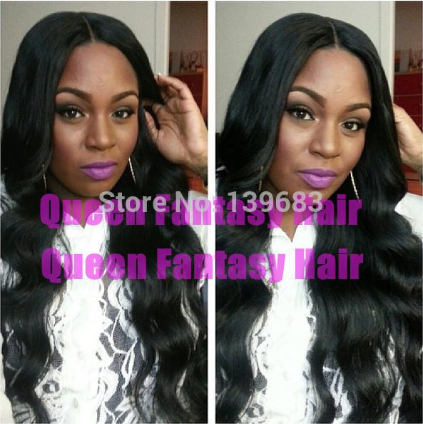 Queen Fantasy Hair 6A 20 #1b Qf-wig-2736