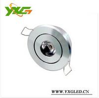 Hot sale 5pcs/lot Aluminum 110V 220V Mini led ceiling spot light dimmable 3w warm & cool white Free shipping