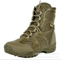 High tactical boots lightweight desert combat boots Summer breathable boots
