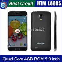 Free shipping!2014 New HTM Landvo L800S MTK6582 Quad Core 1.2GHz  5'' IPS 1GB ROM 4GB ROM 5MP Smartphone WCDMA/Kate2