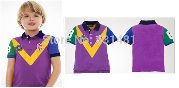 Free shipping summer children ensemble fashion baby girl POLO shirt 2014 new design beautiful clothing brand(China (Mainland))