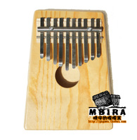 Free Shipping!  10 Tones. Thumb Piano. Finger Piano Oak KALIMBA. African Indigenous Musical Instruments. Easiest Instrument