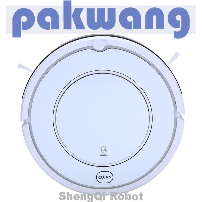 2013 New intelligent vacuum cleaner robot automatic SQ-KK8 white(China (Mainland))