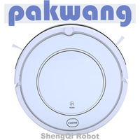 2013 New intelligent vacuum cleaner robot automatic SQ-KK8 white