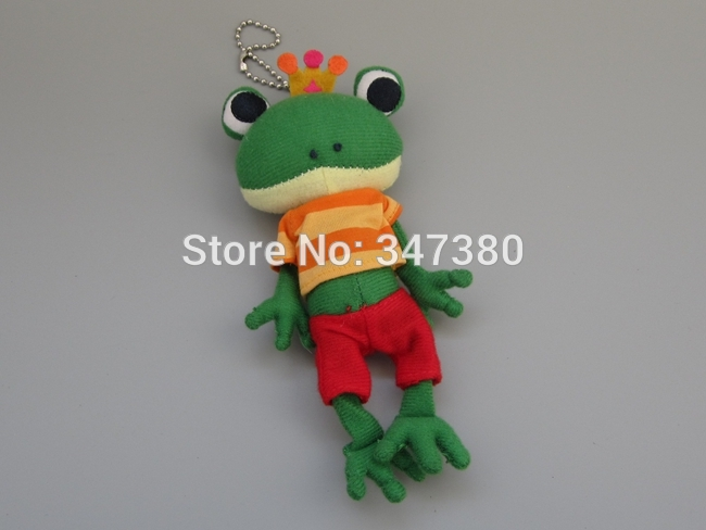 15cm Cute Mini Frogs Animals Small Pendant Cute Frog Plush Toy For Baby Birthday Gifts Wholesale and Retail(China (Mainland))