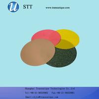 1um 3um 6um 9um Round Type Size 127mm Diamond Lapping Polishing Film
