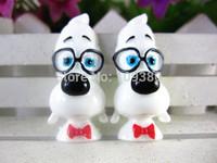 2014 new arrival flatback resin Mr. Peabody & Sherman for children present 20pcs/lot