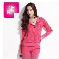 Free shipping 2014 Women's clothing Autumn new fashion leisure suit  Korean female models sportswear  Women suit