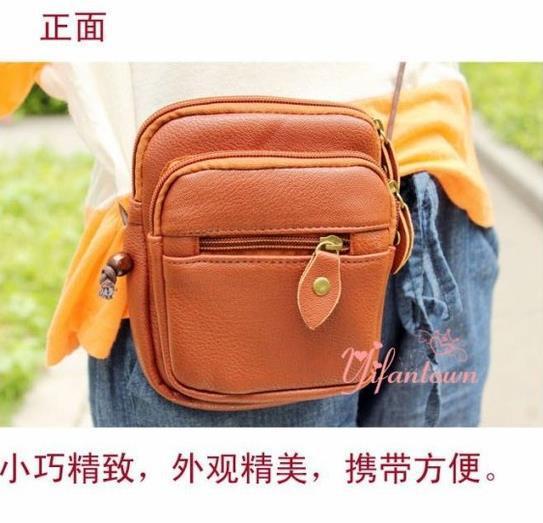 2014 new hot women bag cute women leather handbags fashion women handbag simple women messenger bags free shipping(China (Mainland))