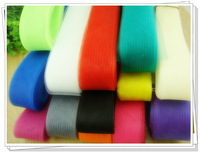 Free ship 35 colors 1.8'' /4.5cm Crinoline / horsehair braids/ hair accessories/ fascinators craft ,100yards/lot