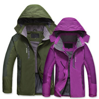 New Brand 2014 Waterproof Windproof Hiking Camping Jacket New Style Fashion Coats Quick-Drying Windbreak Jackets Man 4 Colors