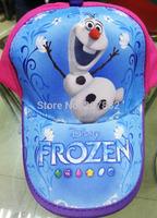 100pcs/Lot Free Shipping !Lovely Frozen Baby Cap Cartoon Children's Hats Sun Caps Summer Beret Cap A3305 Wholesale