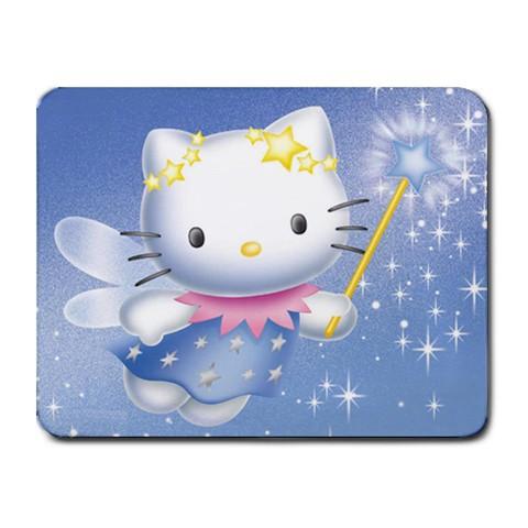 Free shipping New Custom Photo for Hello Kitty Fairy Mouse Pad Mat Mousepad(China (Mainland))