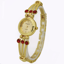 Top Sale Golden Luxury Ladies Women's Bracelet Jewelry Diamond Gifts Dress Quartz Wrist Watches, Free & Drop Shipping