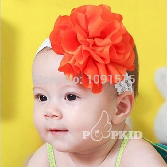 Bambino fiore fascia neonato avvolgere la testa baby band testa! hc05