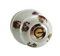 Ceramic lock the door when indoor European ball lock hold hand lock copper core  S-009