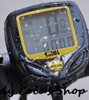 New 2014Free shipping Bike Computer Wireless Bicycle Speedometer Velocimetro Bicicleta Odometer Water-proof SD-548C1