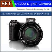 New D3200 digital camera 16 million pixel camera Professional SLR camera 21X optical zoom HD camera plus LED headlamps