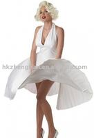 free shipping   women fun celebrity Marilyn Monroe costume dress/party costume  size S-2XL