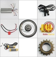 2014 Super Powerful Brushless Gearless 72V 1500W Rear Wheel Ebike Conversion Kit