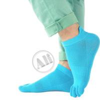 3-Pack NEW  Antibacterial Breathable Short Tube Cotton Five Toe Socks Sports socks  Free Shipping