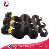 2014 Thick unprocessed queen human hair remy hair weft 8 - 30 inch wholesale cheap brazilian virgin hair body wave for women