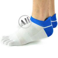 5-Pack NEW  Antibacterial Breathable Short Tube Cotton Five Toe Socks Sports socks  Free Shipping