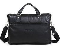 "BOSTANTEN 2014 Men's Casual Genuine Leather Real Cowhide BAG Shoulder Purse Briefcase Messenger Laptop Tote Handbag 14"" 15"""
