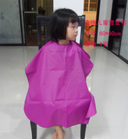 Free Shipping classic pure color Waterproof  Babies Capes Barber clothing kids baby capes cape