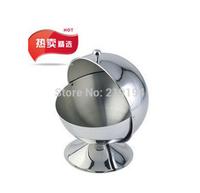 Quality stainless steel spice jar fashion sambonet sugar bowl spices cup seasoning box kitchen utensils