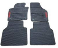 Free shipping for 2010-2013 Volkswagen Tiguan car floor mats durable waterproof eco latex carpets 2012 Vw Tiguan car rugs