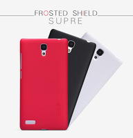 Genuine Nillkin Super Shield Hard Case Cover Skin + Screen Protector For Xiaomi Miui Hongmi Note Red Rice Note Redmi Note