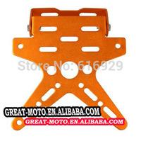 alu Motorcycle Scooter License Plate Bracket Licence Plate Holder Number Plate Hanger Tail Tidy Bracket For Honda Yamaha