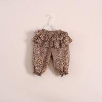 New children leopard dots culottes Lantern Pants